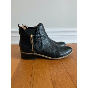 Tommy Hilfiger Women's Leather Booties